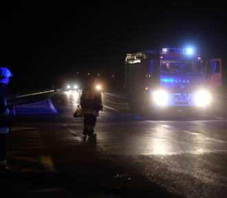 Wypadek w Buku: Czwórka dzieci w szpitalu [ZDJĘCIA]