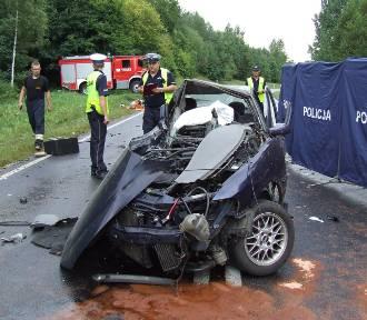 Śmiertelny wypadek pod Nielbarkiem. Zginęły dwie kobiety [zdjęcia, wideo]