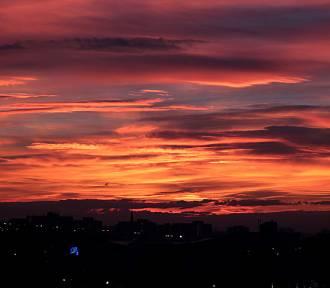 Zachody słońca nad Krakowem [ZDJĘCIA]