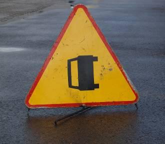 Wypadek na trasie Somonino - Egiertowo