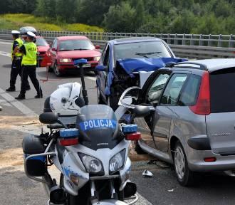 Wypadek na obwodnicy Kraśnika