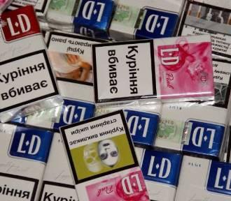 W nissanie przewozili 1180 paczek papierosów