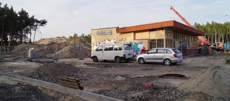 Budowa stacji na osiedlu Leśnym nabiera tempa [zdjęcia]