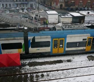 Śmierć pod kołami pociągu. To samobójstwo