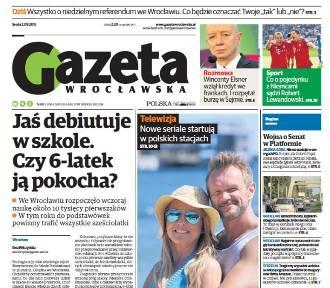 Dziś w Gazecie Wrocławskiej o referendum 6 września i jesiennej ramówce w stacjach telewizyjnych