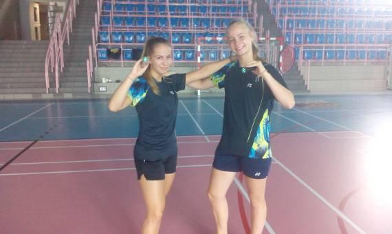 Wywiad z badmintonistkami klubu UKS Unia Bieruń: Magdaleną Kulską i Zuzanną Parysz