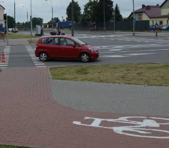 Potrącenie rowerzystki przy ul. Waryńskiego