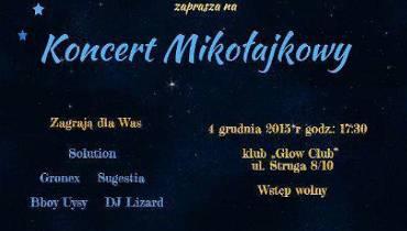 Mikołajkowy koncert w klubie Glow w Łodzi