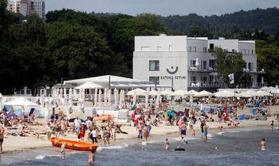 Sopot zabiera plażę Zatoce Sztuki? Wypowiedziano umowę dzierżawy