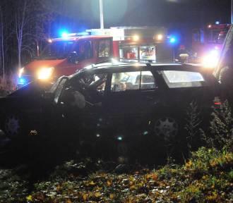Wypadek na trasie Gaj - Błociszewo [ZDJĘCIA]