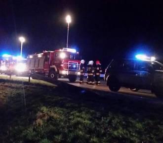 Wypadek na Brzeskiej w Raciborzu. Mitsubishi leciało 20 metrów