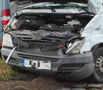 Wypadek w Celbowie. 19-latek zabrany do szpitala   ZDJĘCIA, WIDEO