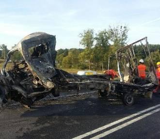 Tragiczny wypadek w Nowych Sadłukach. Zginęły dwie osoby [ZDJĘCIA, WIDEO]