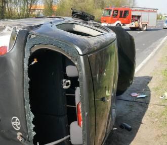 Pijany dachował i wypadł z auta na DK88
