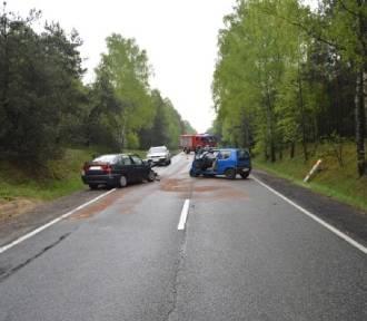 Zderzenie aut na Cyganie. Trzy osoby ranne