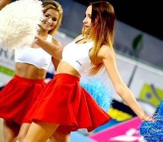 Cheerleaders Toruń podczas meczu Polski Cukier Toruń - Trefl Sopot [zdjęcia]