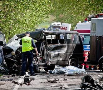 Wypadek na drodze Wałbrzych - Kłodzko (FOTO)
