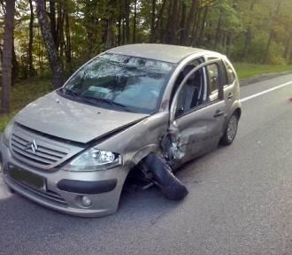 Wypadek w Gniszewie: jedna osoba poszkodowana [ZOBACZ ZDJĘCIA, AKTUALIZACJA]