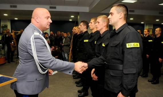 Kraków. Ślubowanie nowo przyjętych policjantów [WIDEO, ZDJĘCIA]