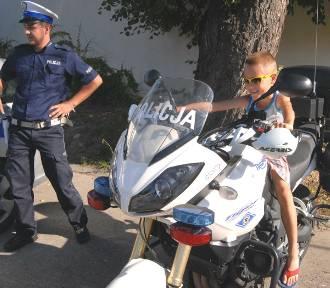 Bezpieczny powrót do szkoły. Wielki piknik policyjny przed Arkadią