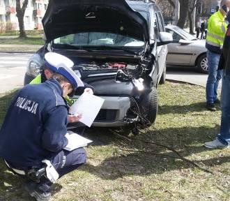 Są ranni w zderzeniu skutera z autem [FOTO]