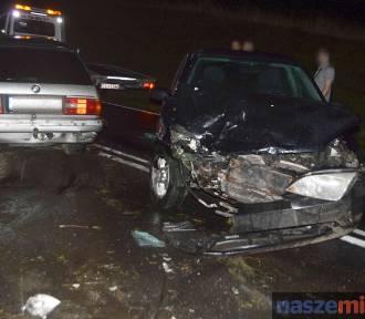 Wypadek na drodze Włocławek - Lipno. Czteromiesięczne dziecko trafiło do szpitala [WIDEO]