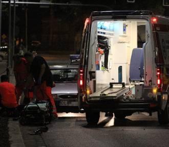 Wypadek na ulicy Skarbka w Legnicy (ZDJĘCIA)