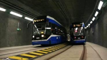 Bo beton był za twardy. Opóźniony remont tunelu szybkiego tramwaju