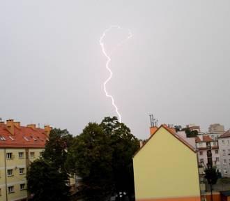 Burza nad Głogowem [ZDJĘCIA]