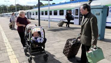 Ogromne opóźnienia pociągów do Szczecina [wideo, zdjęcia]