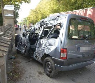 Wypadek w Karnkowie. Jednak osoba w szpitalu