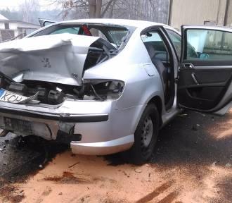 Wypadek w Libiążu. Sześć osób rannych [ZDJĘCIA]
