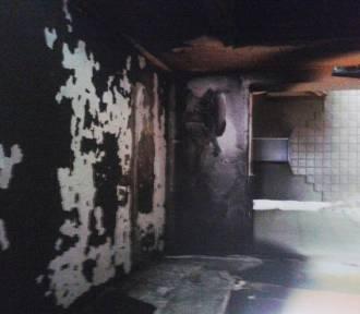 Warszkowo: Pożar mieszkania - straty ok. 100 tys. zł [ZDJĘCIA]