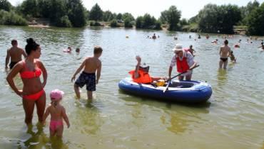 Upał we Wrocławiu. Mieszkańcy szukają ochłody w kąpieliskach [zdjęcia]