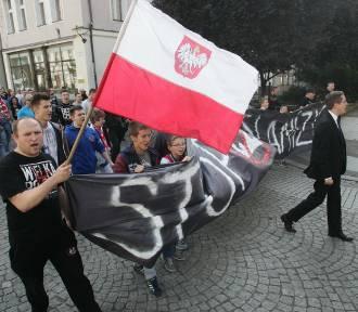 Manifestacja przeciw islamizacji w Legnicy (ZDJĘCIA)