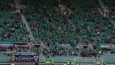 Śląsk Wrocław ukarany przez UEFA za... wywieszenie flagi z herbem miasta Brzeg