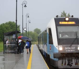 Przystanki kolejowe w Zamościu już działają