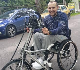 Michała Gromali życie na wózku