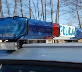 Wypadek w Sierakowicach z cudzoziemcem