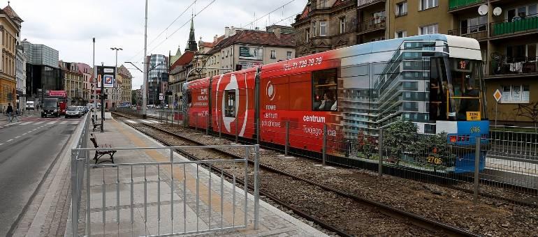 W weekend tramwaje nie pojadą przez Kazimierza Wielkiego [objazdy]