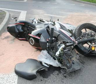 Tragiczny wypadek - zginął motocyklista