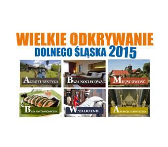 Plebiscyt Wielkie Odkrywanie Dolnego Śląska 2015