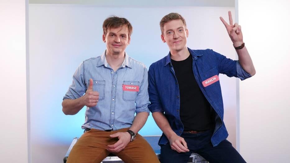 Tomasz i Marcin Ponieccy z Gdańska