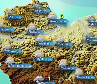 Nowy Sącz. Pogoda w czwartek, 2 kwietnia 2015
