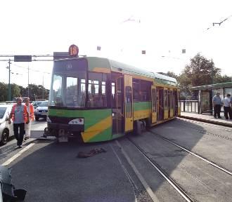 MPK Poznań: Na ul. Królowej Jadwigi wykoleił się tramwaj