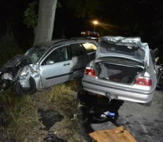Groźny wypadek, ranne dwie osoby