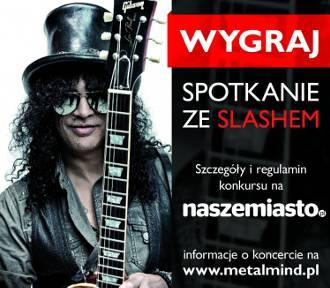 <b>WYGRAJ </b>bilet na spotkanie ze Slashem!