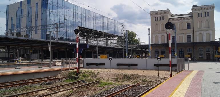 Powstający dworzec PKP w Bydgoszczy coraz piękniejszy [zdjęcia, wideo]