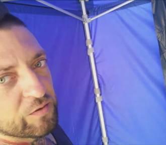 Linkin Park w Rybniku. Fani malują gigantyczny obraz zespołu na rynku