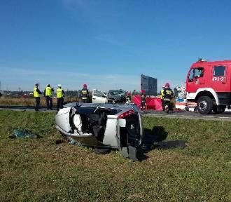 Wypadek w Szaflarach. Dwie osoby ciężko ranne [ZDJĘCIA]